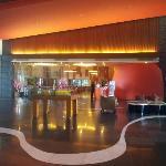 Modern interior design at the Lobby