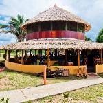 Aqui é onde está localizado Restaurante, Recepção e Bar da pousada.