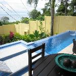 villa sol porch/pool