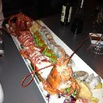 Lobster, soft shell crab etc. Incredible taste.