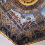 I magnifici affreschi dei soffitti