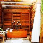 Experience a Romantic Love Bath, a Detox Bath, or a Happiness Bath here at Little Palm Island's