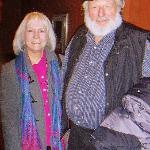 Kathy with Theodore Bikel