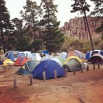Easter Camping at The Pines, Mt. Arapiles