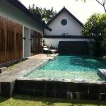 Our private pool..