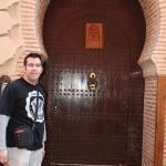 voordeur van het Riad