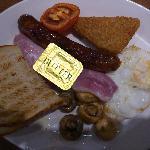 Full English Breakfast at Garfunkel's Restaurant