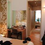 Zimmeransicht Doppelbett Normal