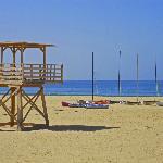 Blick auf den tollen Stran von Agadir