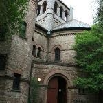 Entrance to Circular Church, Meeting Street, Charleston, SC