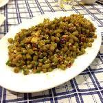 インゲンとひき肉の炒め物