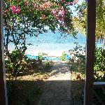Photo taken from the doorway of room 1