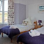 Our twin room Putsborough (B&B room)