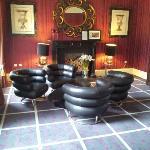Eileen Gray Bibendum Chairs in the Lounge
