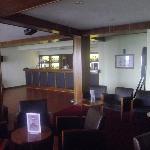le bar de l'hotel et son animation musicale