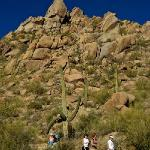 Good hiking trail to highest viewpoints at Pinnacle peak Park.