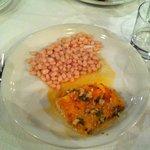 salt cod with beans