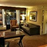 Awesome room and view at Crowne Plaza KC