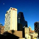 Crowne Plaza Hotel in downtown Kansas City