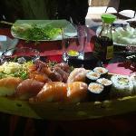 Drago sushi wok