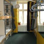 Chambre dortoir mixte 6 personnes