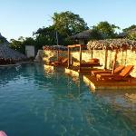 Bottom resort pool