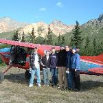 Flightseeing at Sheep Mtn Lodge