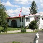 Red Top B&B, front entrance
