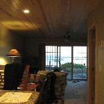 Kitchen/Dining/Livingroom - bathroom door is off to the right