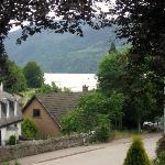 Loch Ness-view from room.