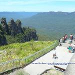 Three Sisters Lookout and Jamison Valley