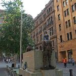 A beautiful monument in Martin Place
