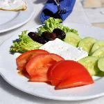 Vegetarian plate - breakfest