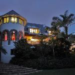 Northcliff Manor at Dusk.