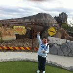 after getting a hole in one!!!!