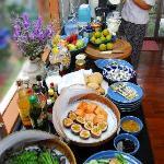 our gourmet organic breakfast