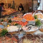 Market stall, Rue de Mouffetard