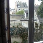 Vista da janela do quarto (fundos)