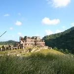 View of Sans Souci from the road