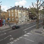 Shepherd's Bush Road (Blick nach rechts)