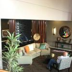 Lobby area. Updated and relaxing with great coffee and tea!