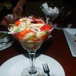 Lounge Corvina Ceviche.