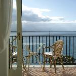 The Mediterranean stretches as far as the eye can see...