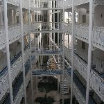 couloir acces chambres