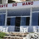 No meio do paraiso tem um restaurante - o do Mano.