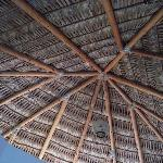 Palapa Roof in the del Mar Casita