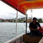 Bocas del Toro view from sea