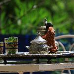 le Thé à la menthe d'accueil, a votre arrivée