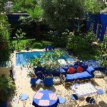 déjeuner pris, la piscine nous attend !