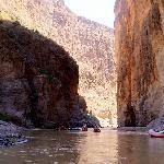 Floating into Santa Elena Canyon